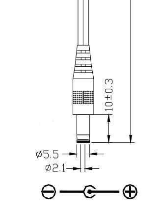 SIP-T38G Netzteil 5V 2A für Yealink SIP-T32G SIP-T40P T48G T46G